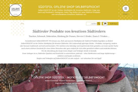 Webdesgin Internetagentur Südtirolhome Webdesgin