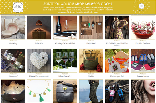 Onlineshop SelberGMOCHT.it